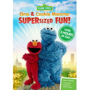 Sesame Street: Elmo And Cookie Monster Supersized Fun by