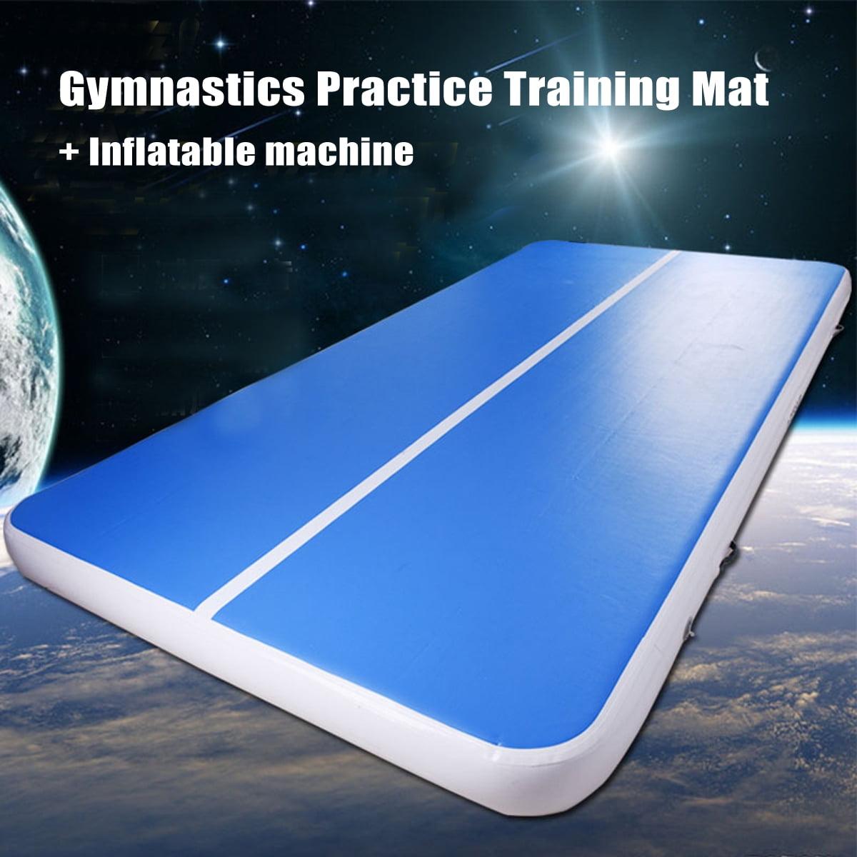 Inflatable Gymnastics Cheerleading Tumbling Yoga Mat Air Track Floor Practice Training Mats Home Use