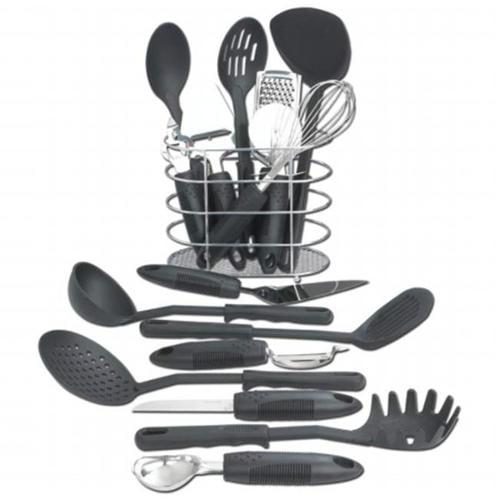 Maxam KTOOL172 17 pieces Kitchen Tool Set