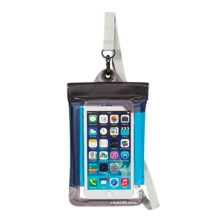 Waterproof Camera Pouch - Travelon 12505 Floating Waterproof Smart Phone/Digital Camera Pouch