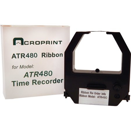 - Acroprint, ACP390127002, 2-color Ribbon Time Clock Cartridge, 1 Each