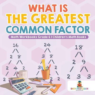 What Is the Greatest Common Factor - Math Workbooks Grade 6 Children's Math Books