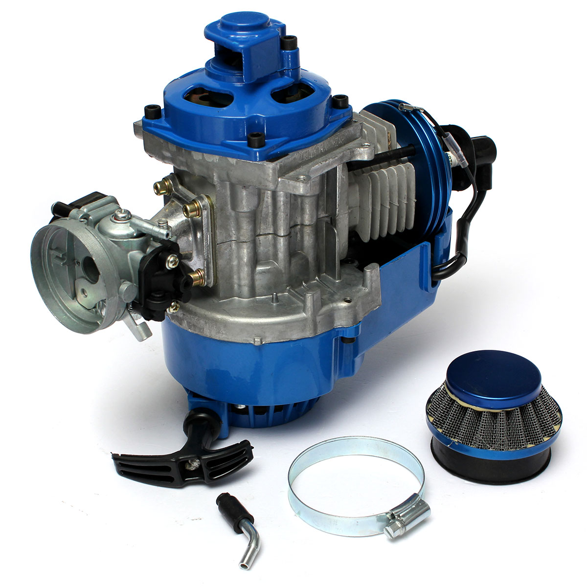 MATCC Air Cooled 49cc Racing Engine Start 2 Stroke Motor ...