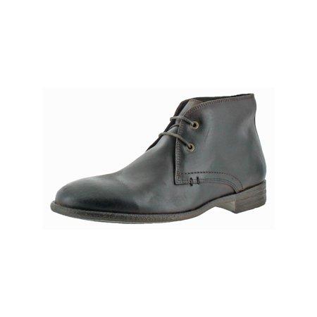Robert Wayne Mens Wisconsin Round Toe Casual Chukka Boots