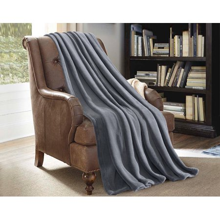 (Multi-Purpose Super Soft Cozy Plush Fleece Throw Blanket For Bed Couch Sofa 50