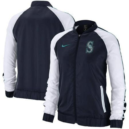 Seattle Mariners Nike Women's Varsity Full-Zip Jacket - Navy (Nike Air Max 95 Women)