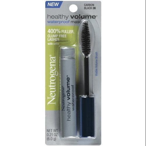 Neutrogena Healthy Volume Mascara, Waterproof, Carbon Black 06