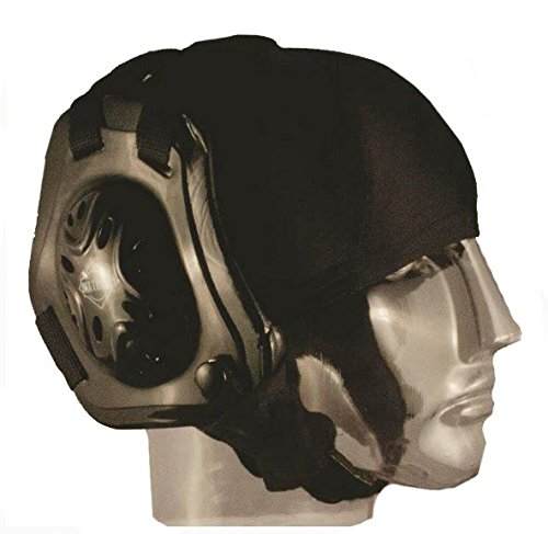 Matman Wrestling Hair Cap with Eyelets Black