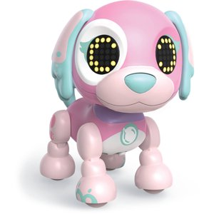 Zoomer Zupps Tiny Pups, Spaniel Bubblegum, Litter 3, Interactive Puppy with Lights, Sounds and Sensors