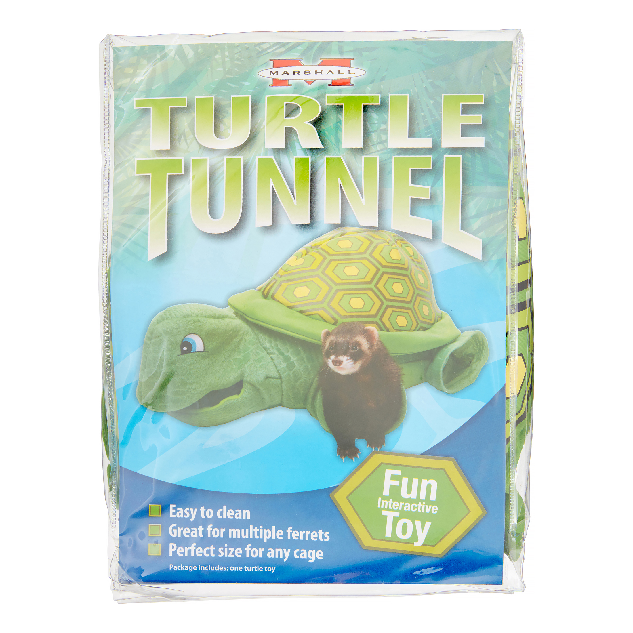 Marshall Pet Products Turtle Tunnel Small Animal Toy
