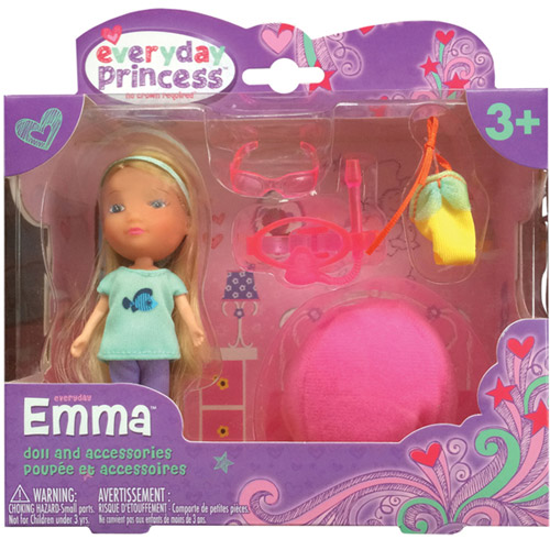 Neat-Oh! Everyday Princess Emma Doll and Bean Bag Chair