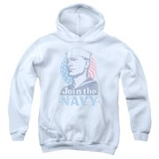 US Navy Join Now Big Boys Pullover Hoodie