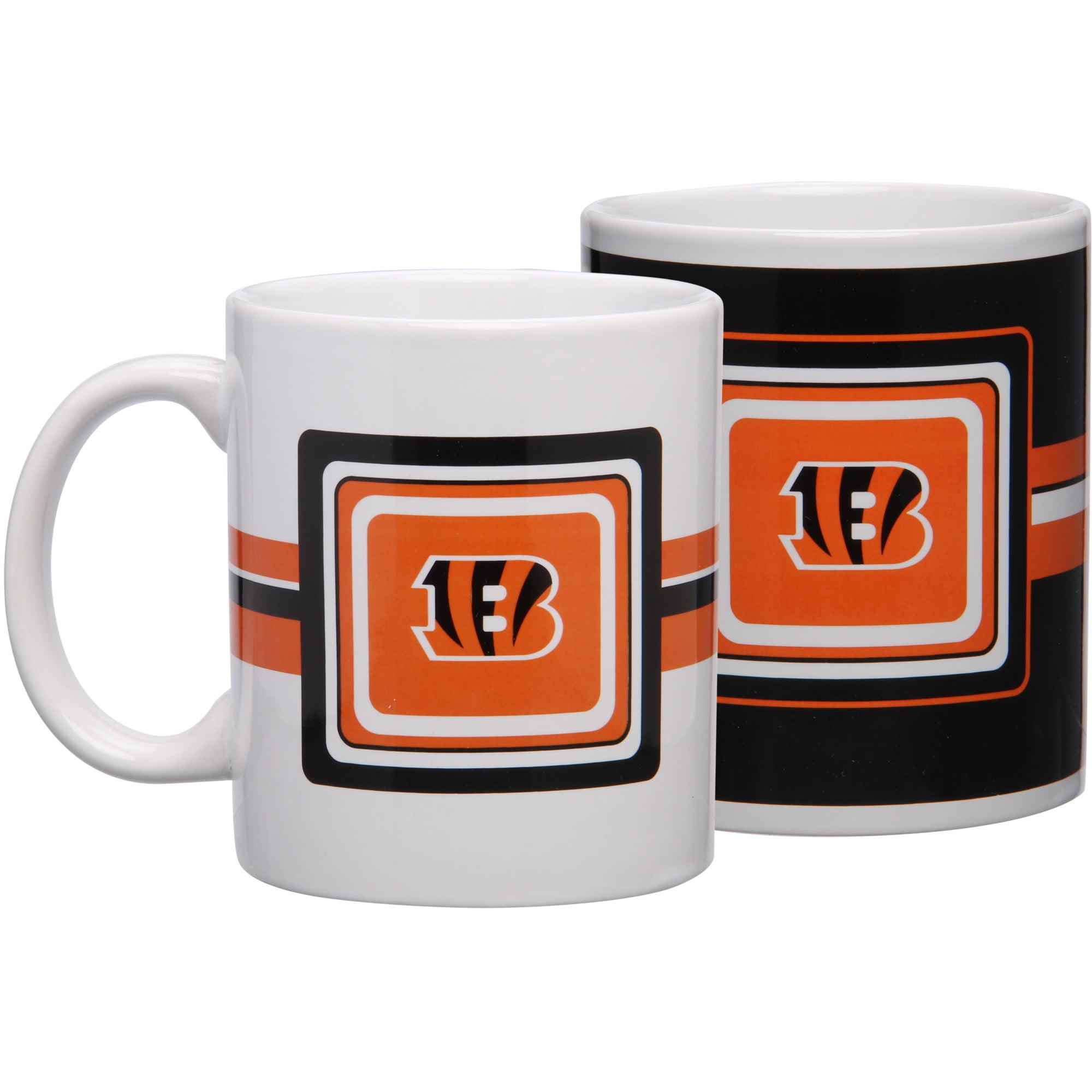 Cincinnati Bengals 11oz. Two-Pack Mug Set - No Size