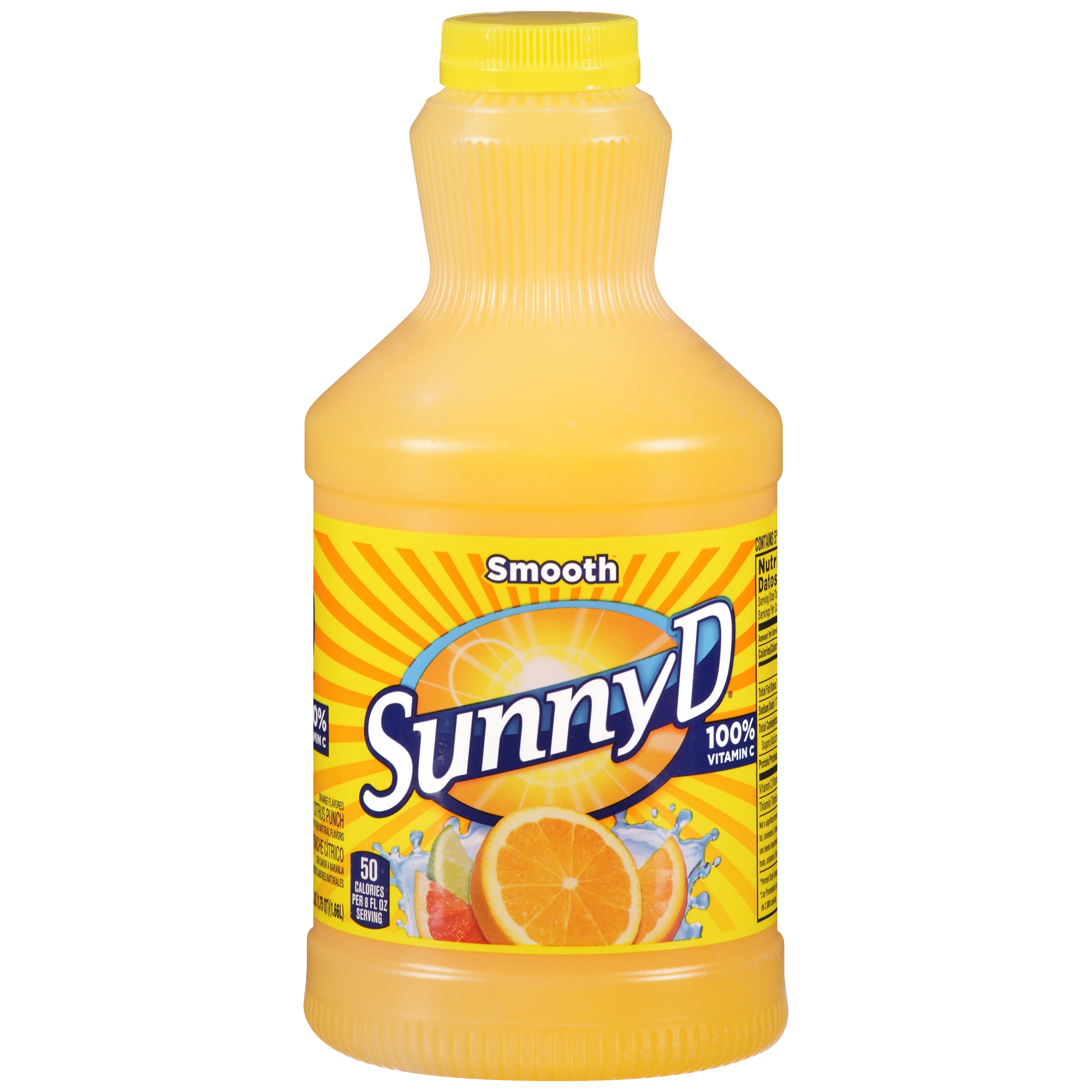 Sunny D® Smooth Citrus Punch 56 fl. oz. Plastic Bottle