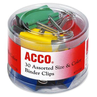 Acco Binder Clips ACC71130 ()