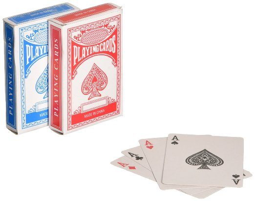Economy Playing Cards (Pack of 12) by Rhode Island Novelty
