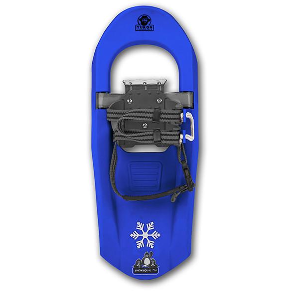 SNOWSQUALL Youth Snowshoe Blue by Kwik Tek