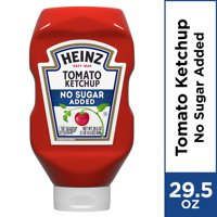 Heinz No Sugar Added Tomato Ketchup, 29.5 oz Bottle