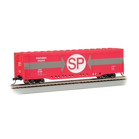 Southern Stock Car (Bachmann Industries HO Scale Evans All-Door Box Car - Southern Pacific #51188, Bachmann's Silver Series rolling stock By Bachmann Trains Ship from US )