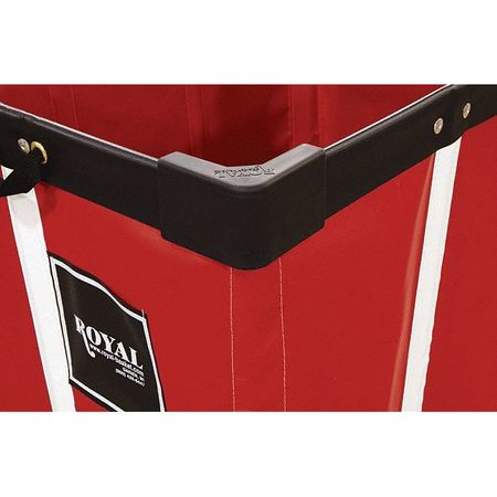 ROYAL BASKET TRUCK Corner Bumper Kit,Black,Rubber,PK4 G00-BKX-BMK