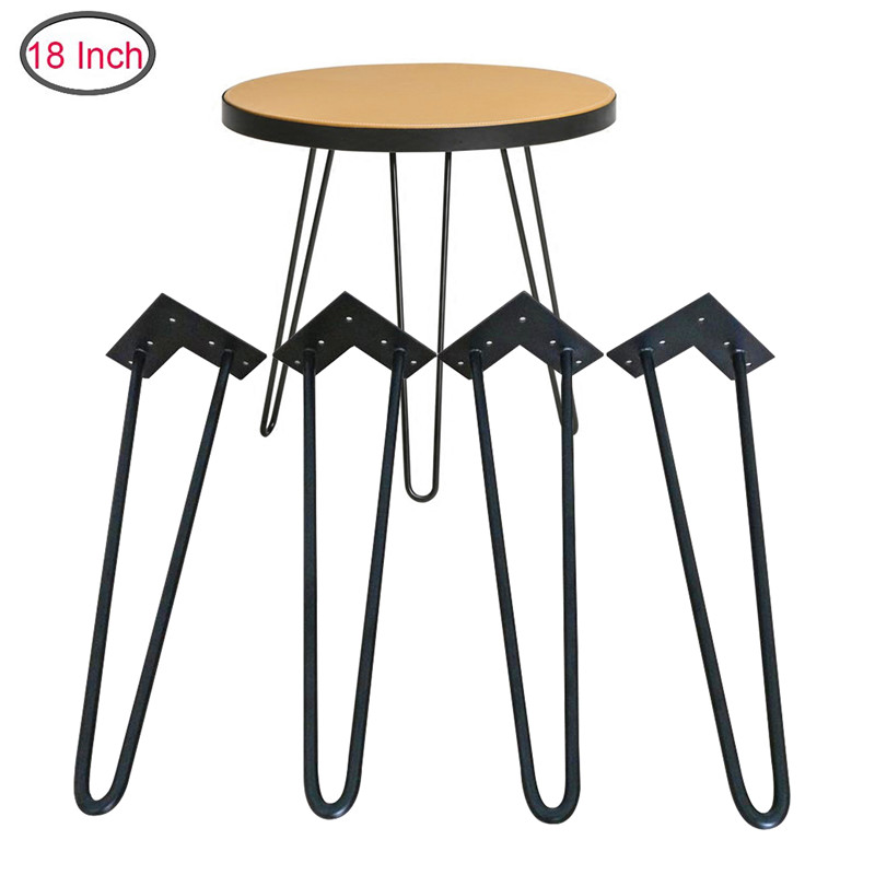 4 Piece Folding Legs For Small Table Hardware Folding Hairpin