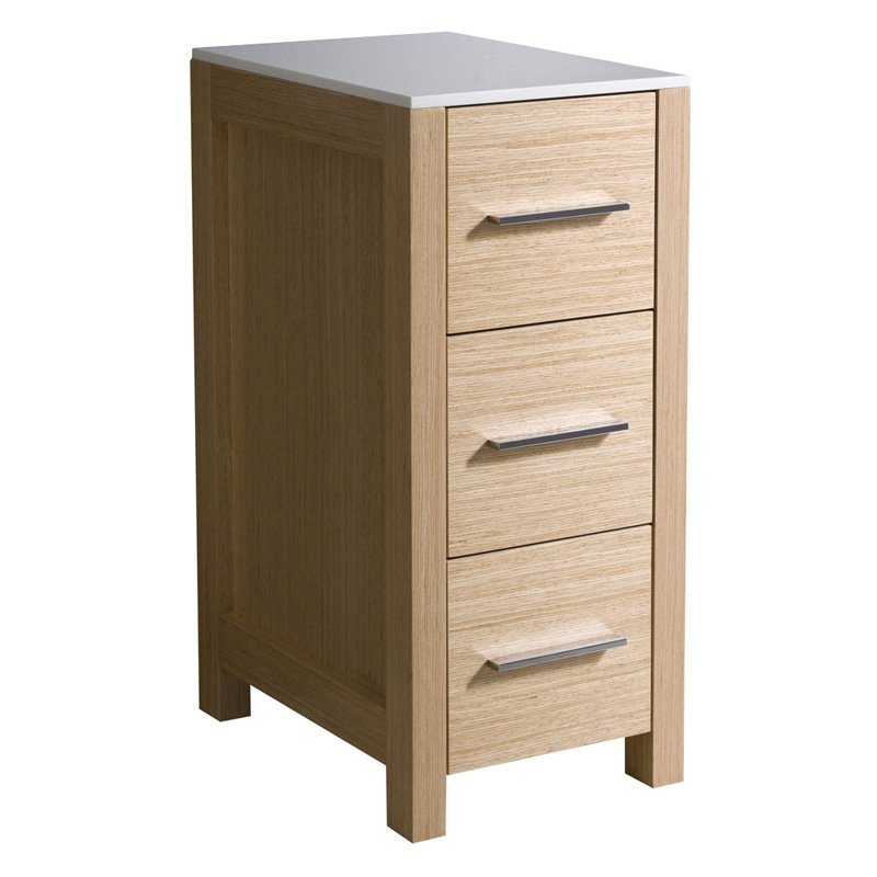 Fresca Torino Bathroom Linen Side Cabinet