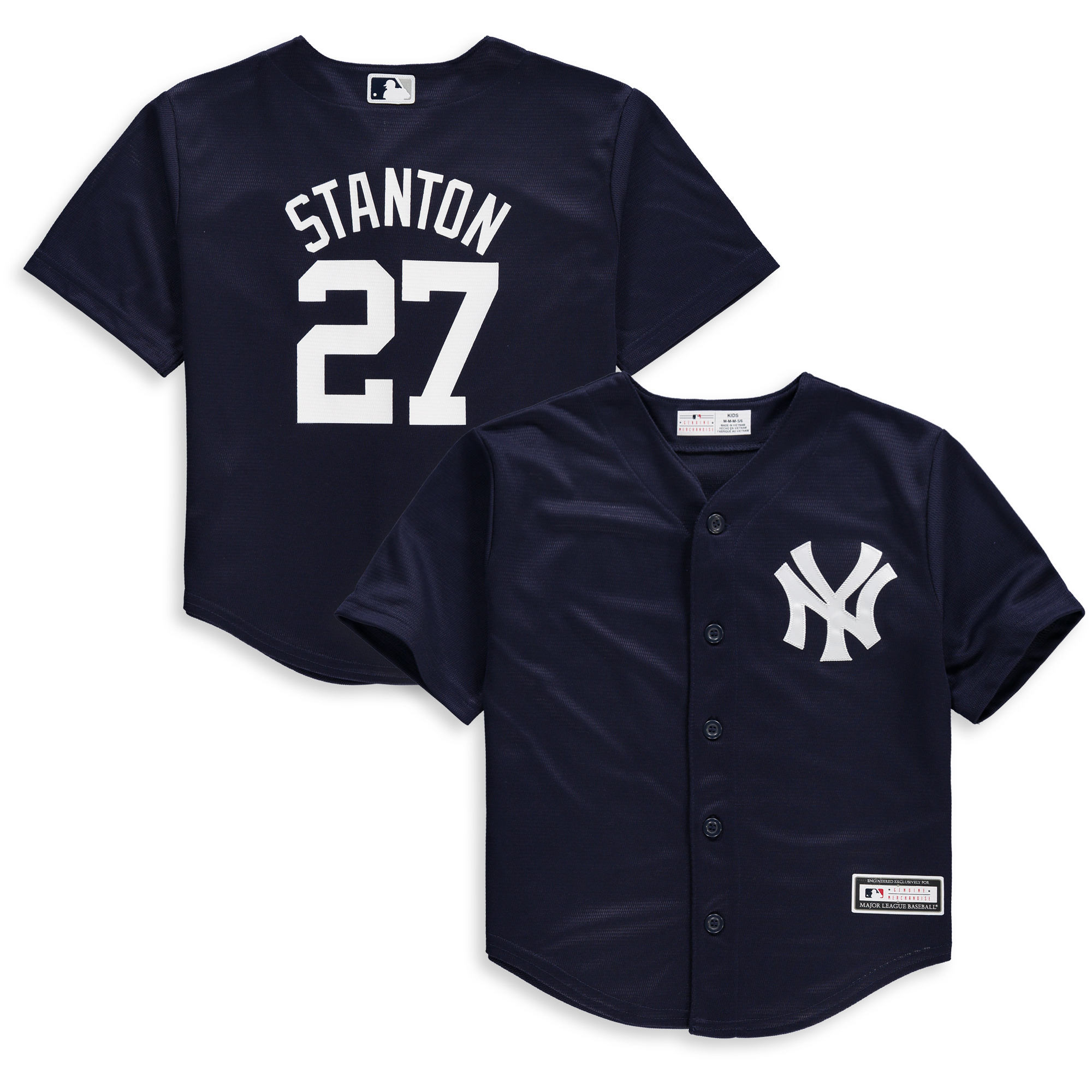 Giancarlo Stanton New York Yankees Preschool Fashion Replica Player Jersey - Navy