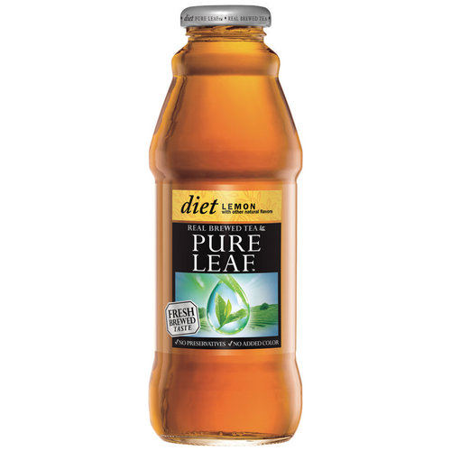 Lipton Pureleaf Diet Lemon Black Tea, 16 oz