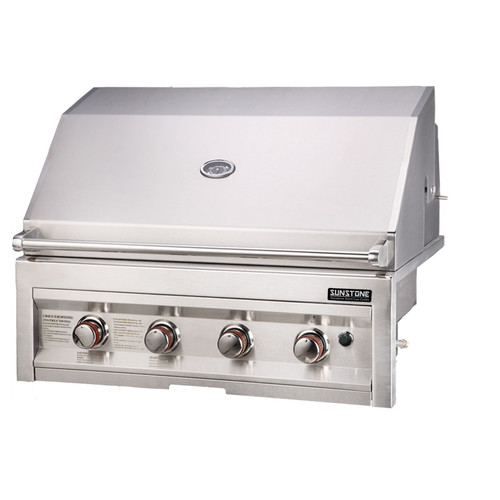 Sunstone Grills 34'' Gas Grill with 4 Burners by Sunstone Grills