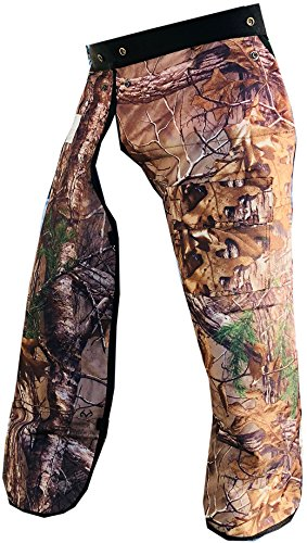 35 Fits Most 5 to 54 Tall Safety Green Short Full Wrap Zipper Forester Chainsaw Safety Chaps