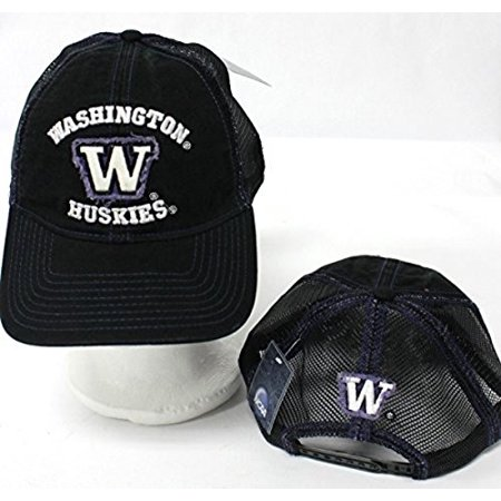 New NCAA Washington State Huskies Adjustable Snap Back One Fit Cap Embroidered Hat