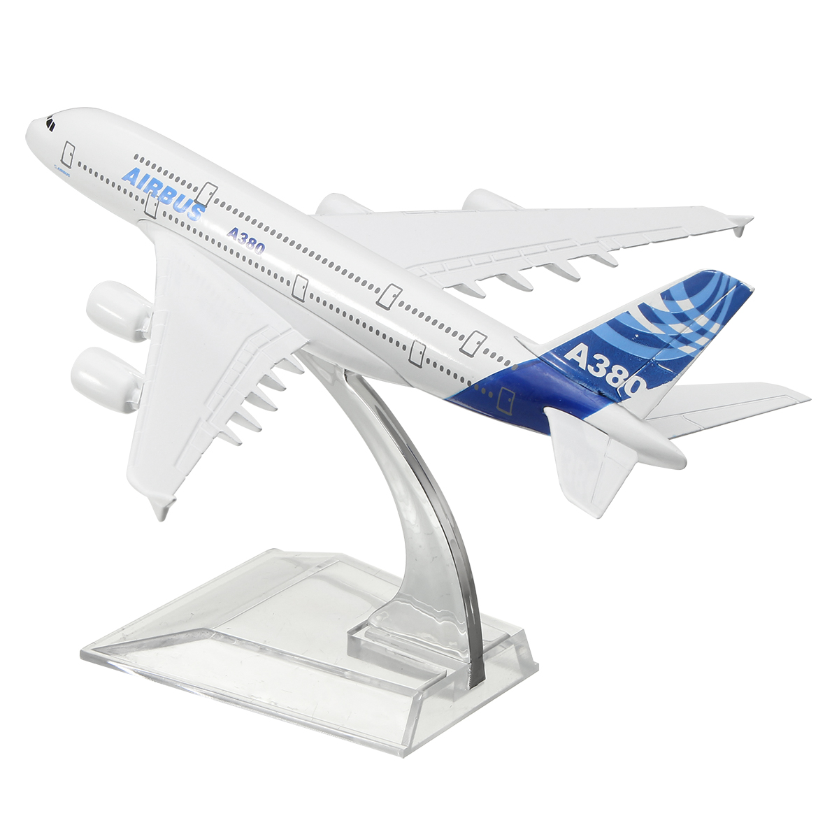 Model Airplane Aircraft Airbus A380 Metal 16cm 1:400 Alloy Collectable Toys Gift