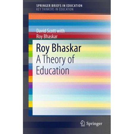 Roy Bhaskar  A Theory Of Education