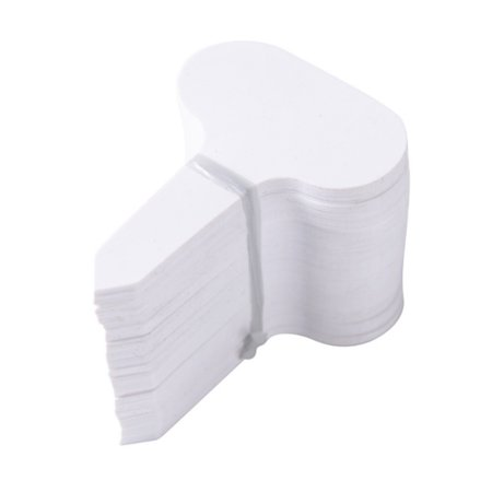 100pcs Plastic Markers Garden Labels T-type Tags Nursery Seed Label