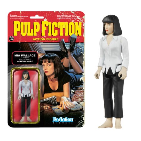 Funko Pulp Fiction ReAction Mia Wallace Action Figure - Mia Wallace