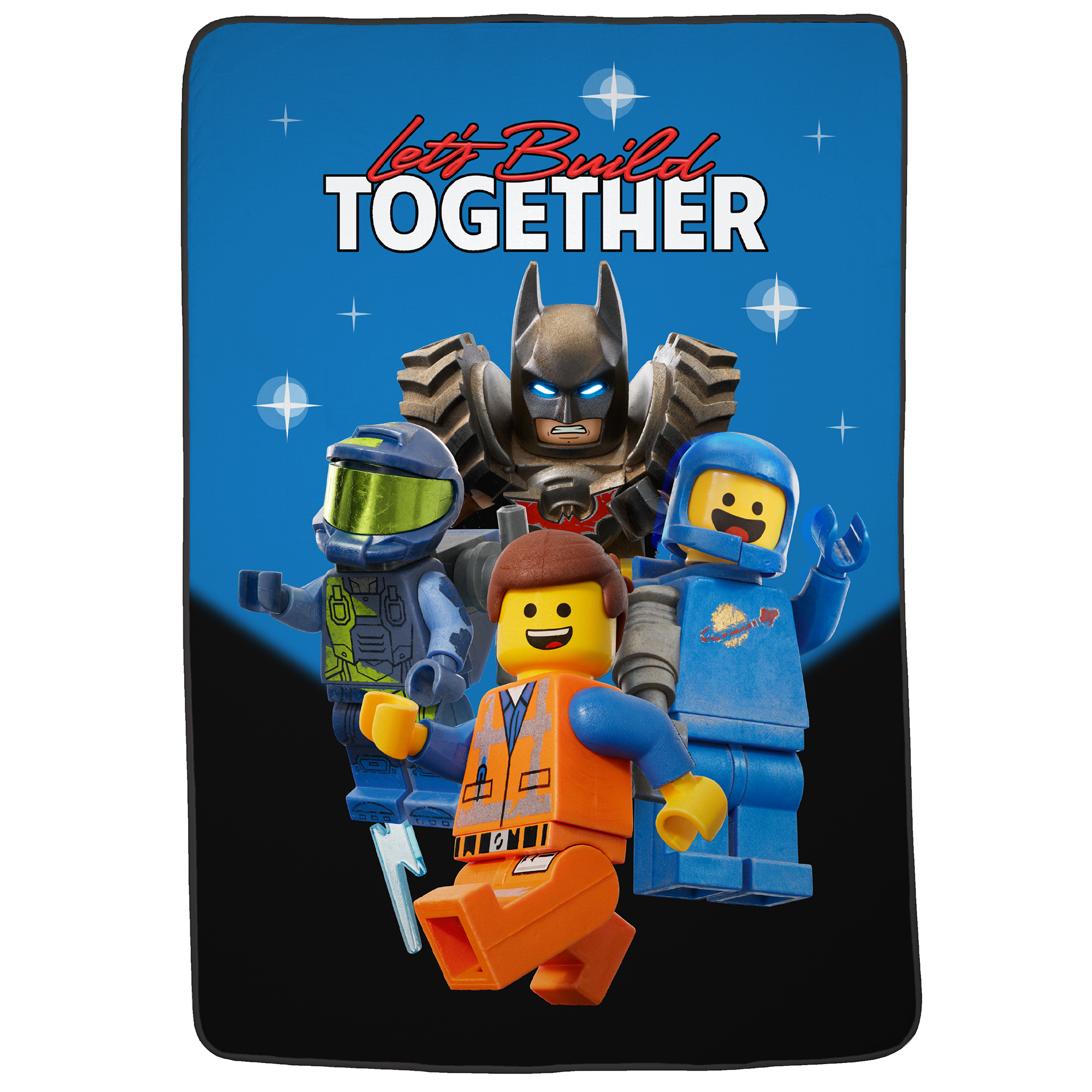 Lego Movie 2 Build Your Future Blanket, 1 Each