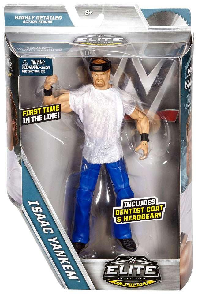 WWE Wrestling Flashback Series Isaac Yankem Action Figure by