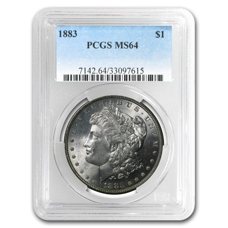 1883 Morgan Dollar MS-64 PCGS