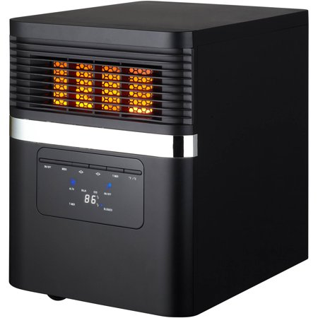 Comfort Infrared Natural Gas Heater - Soleil Electric Quartz Infrared Heater, Black, PH91K