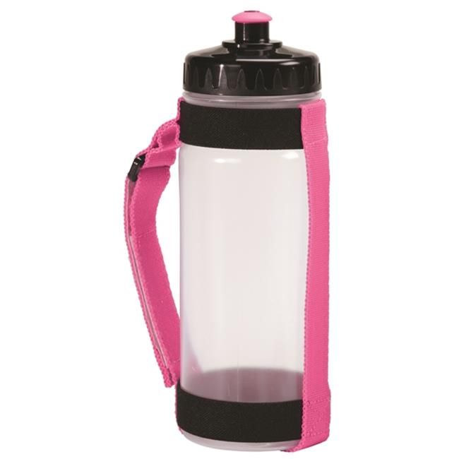 AGM Group 78273 Slim Handheld Bottle Carrier with 650 ml - Pink