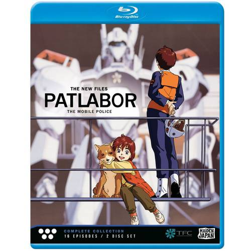 Patlabor The Mobile Police: The New Files - Complete Collection (Japanese) (Blu-ray) (Widescreen)