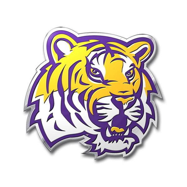 LSU Tigers Color Auto Emblem - Die Cut