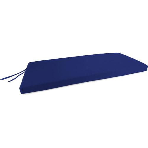 Jordan Manufacturing Outdoor Patio Bench, Swing, and Glider Cushion, Veranda Cobalt by Jordan Manufacturing
