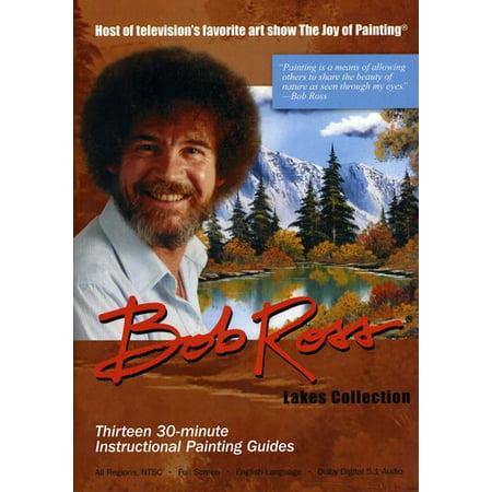 Bob Ross Joy of Painting Series: Lakes (DVD) (Joy Of Painting Series 2)