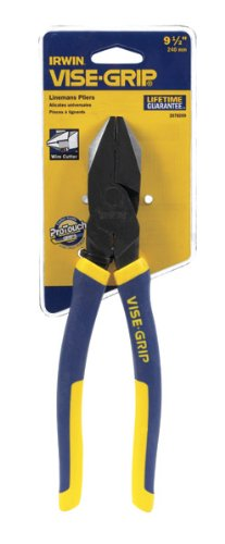 """Vise Grip 2078209 9.5"""" Propliers Linemans Pliers With Wire Cutter by Vise Grip"""