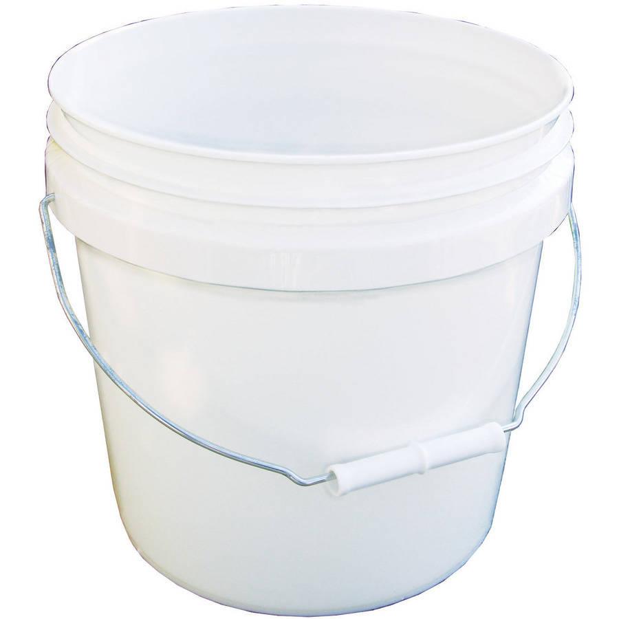 Encore Plastics 2-Gallon Pail, White