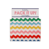Packed Party Making Waves Scalloped Card Holder