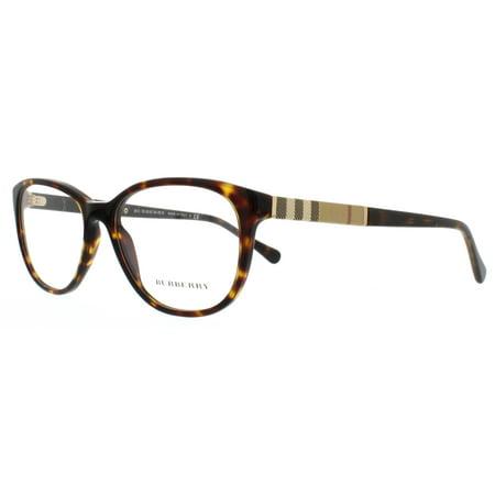 1972c574fca4 BURBERRY Eyeglasses BE 2172 3002 Havana 54MM - Walmart.com