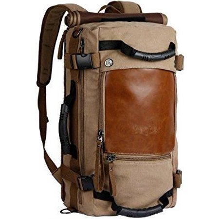 e3cc2c0886 ibagbar - ibagbar canvas backpack travel bag hiking bag camping bag ...