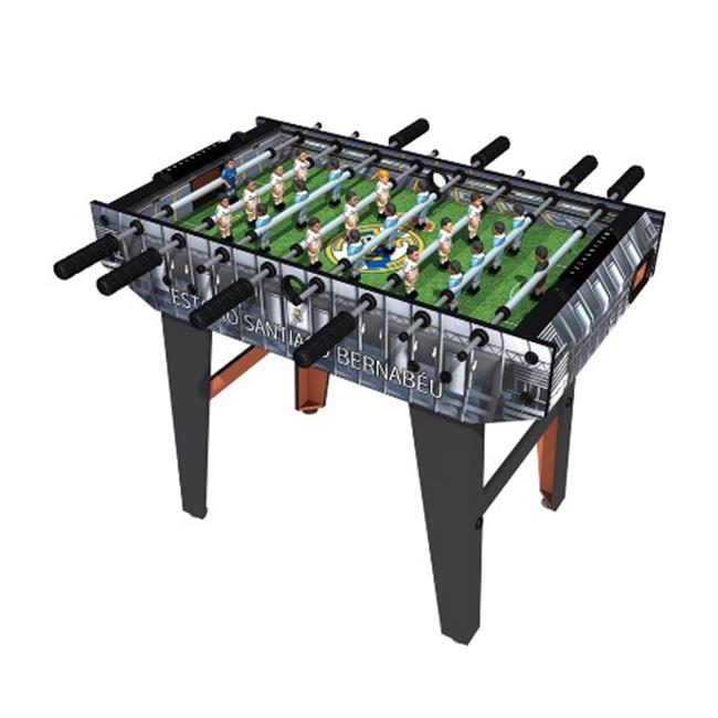 Real Madrid & Barcelona Team 2014 Mini Foosball Table, 11 Generic Players